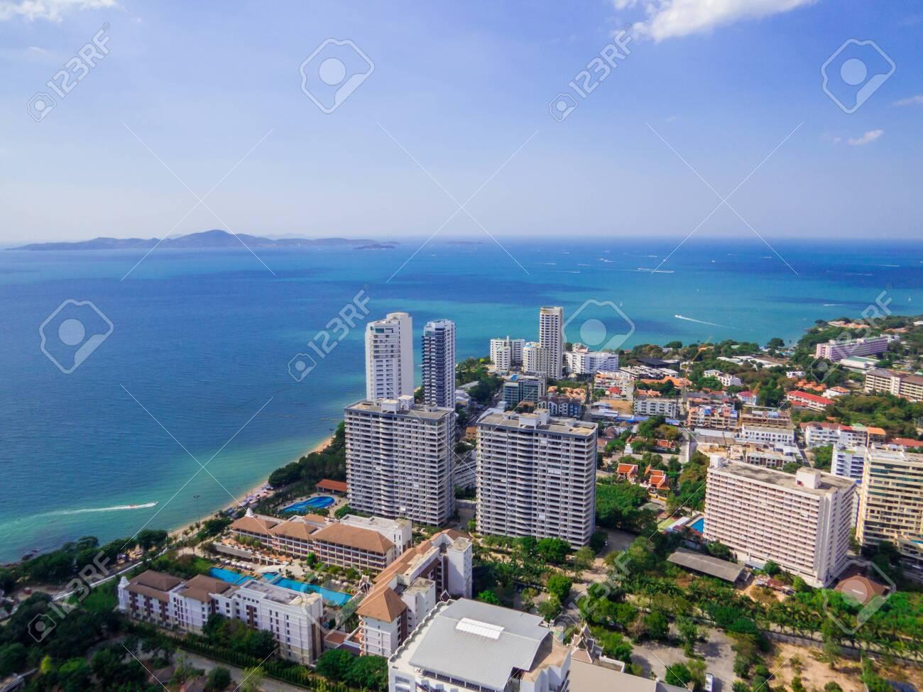 Aerial view of Pattaya, Thailand - 151391492