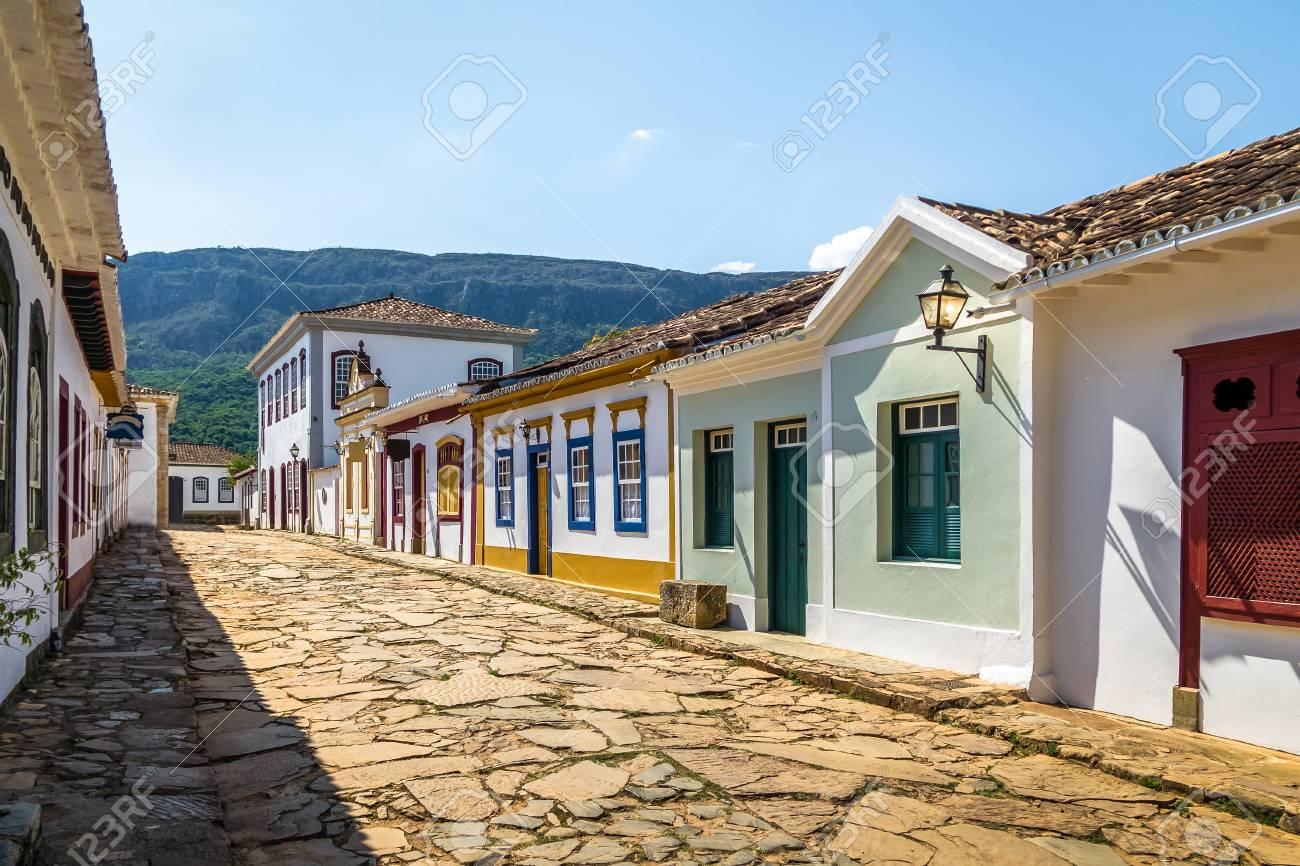 Brazil - Page 14 77566576-colorful-colonial-houses-and-cobblestone-street-tiradentes-minas-gerais-brazil
