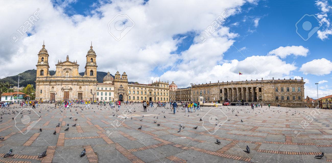 大聖堂とコロンビアの国民議会議...
