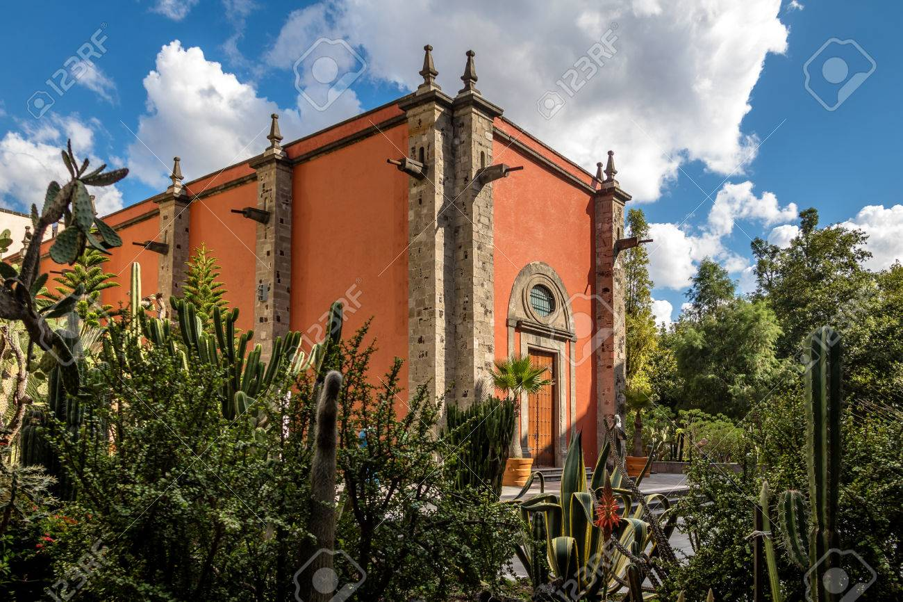 The Royal Chapel (Capilla De La Emperatriz) At The Gardens Of ...