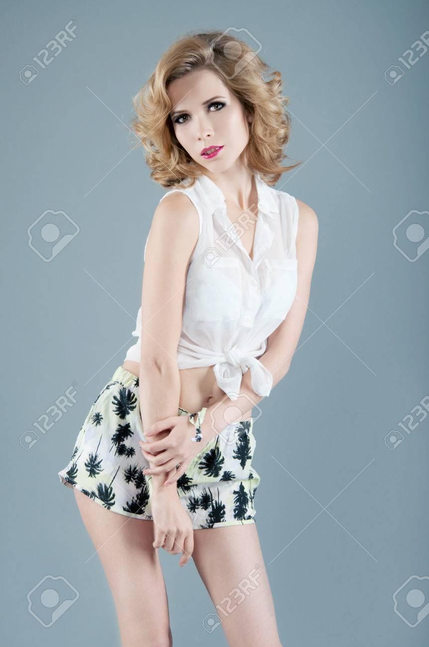 Sexy Beach Blonde