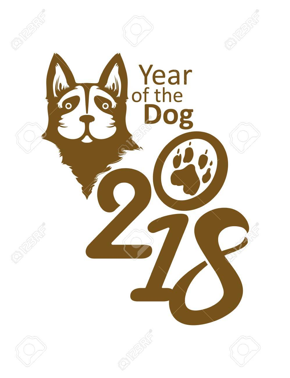Chinese shepherd images stock pictures royalty free chinese symbol 2018 year of the dog on the chinese calendar biocorpaavc