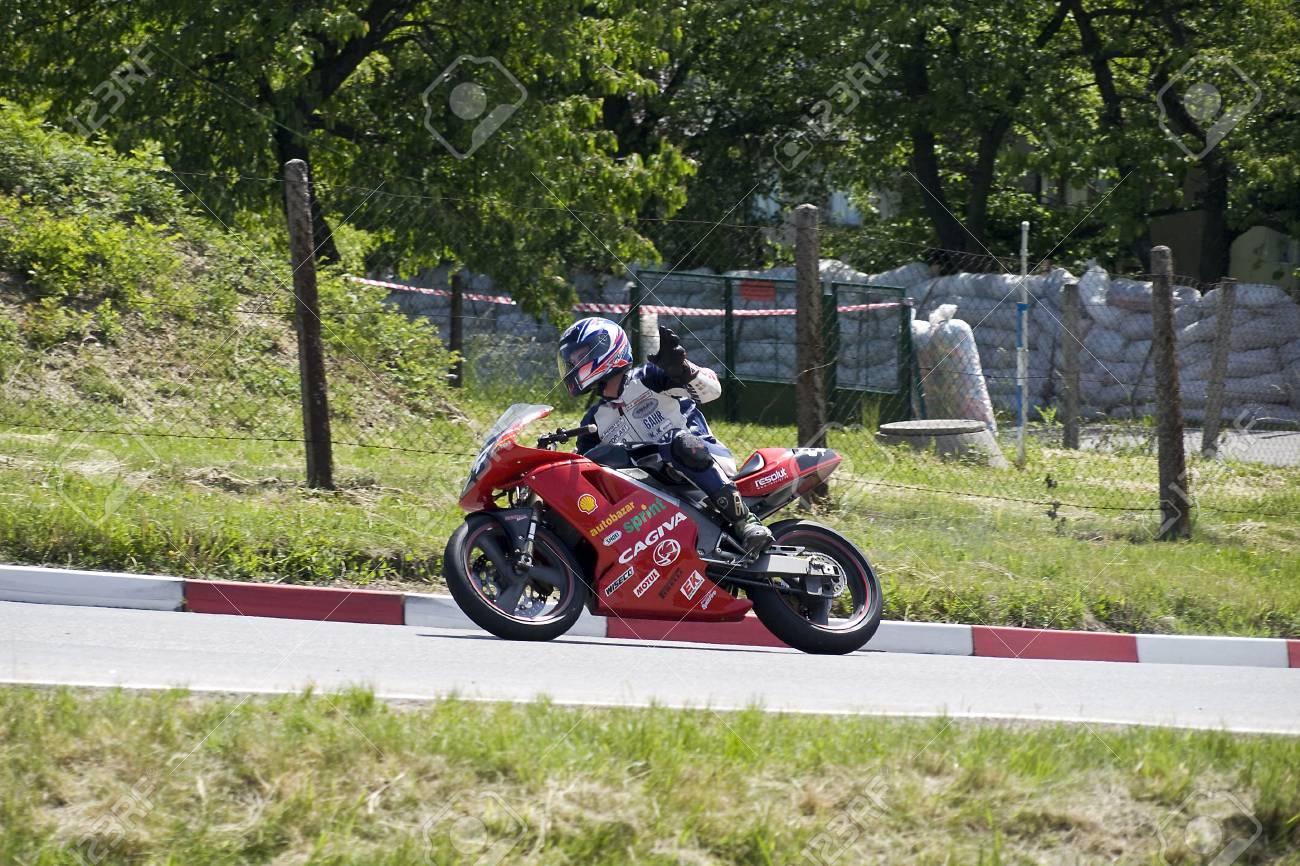 MOTORBIKE RACING 300 ZGH Horice Stock Photo - 13460363