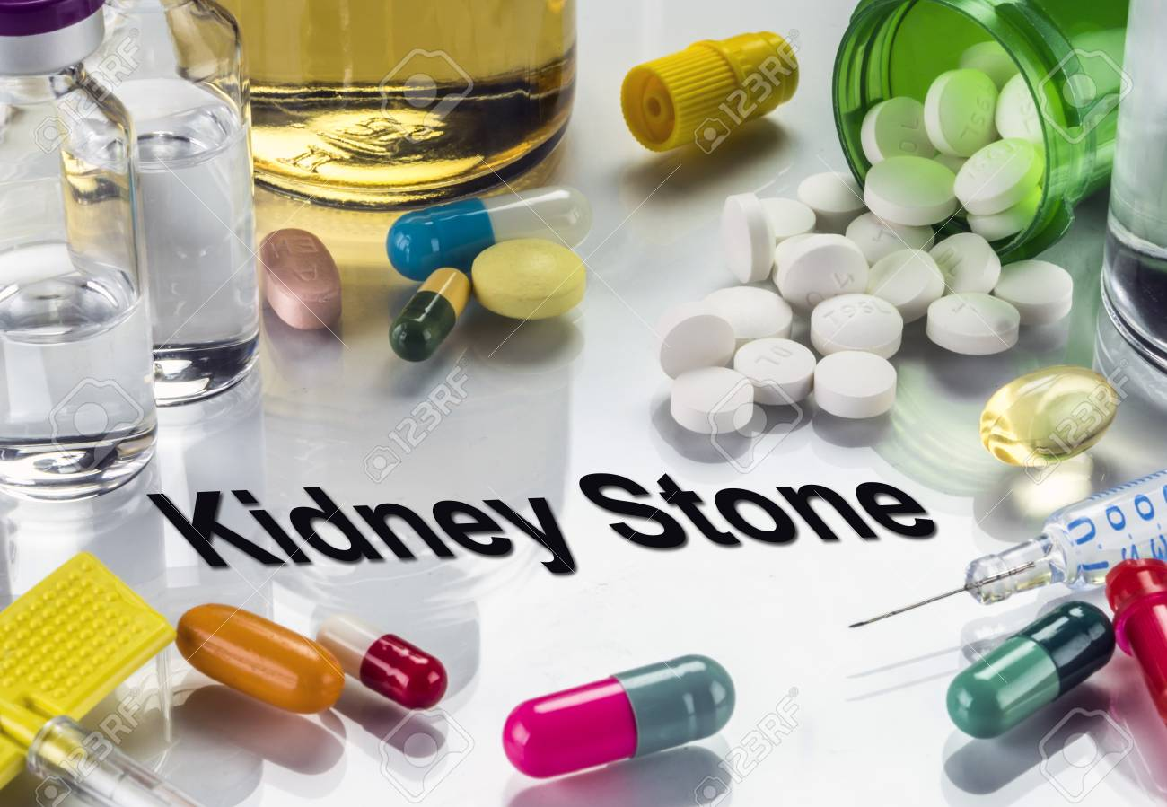 Kidney Stone Medicines As Concept Of Ordinary Treatment Conceptual Stock Photo Picture And Royalty Free Image Image 92347079