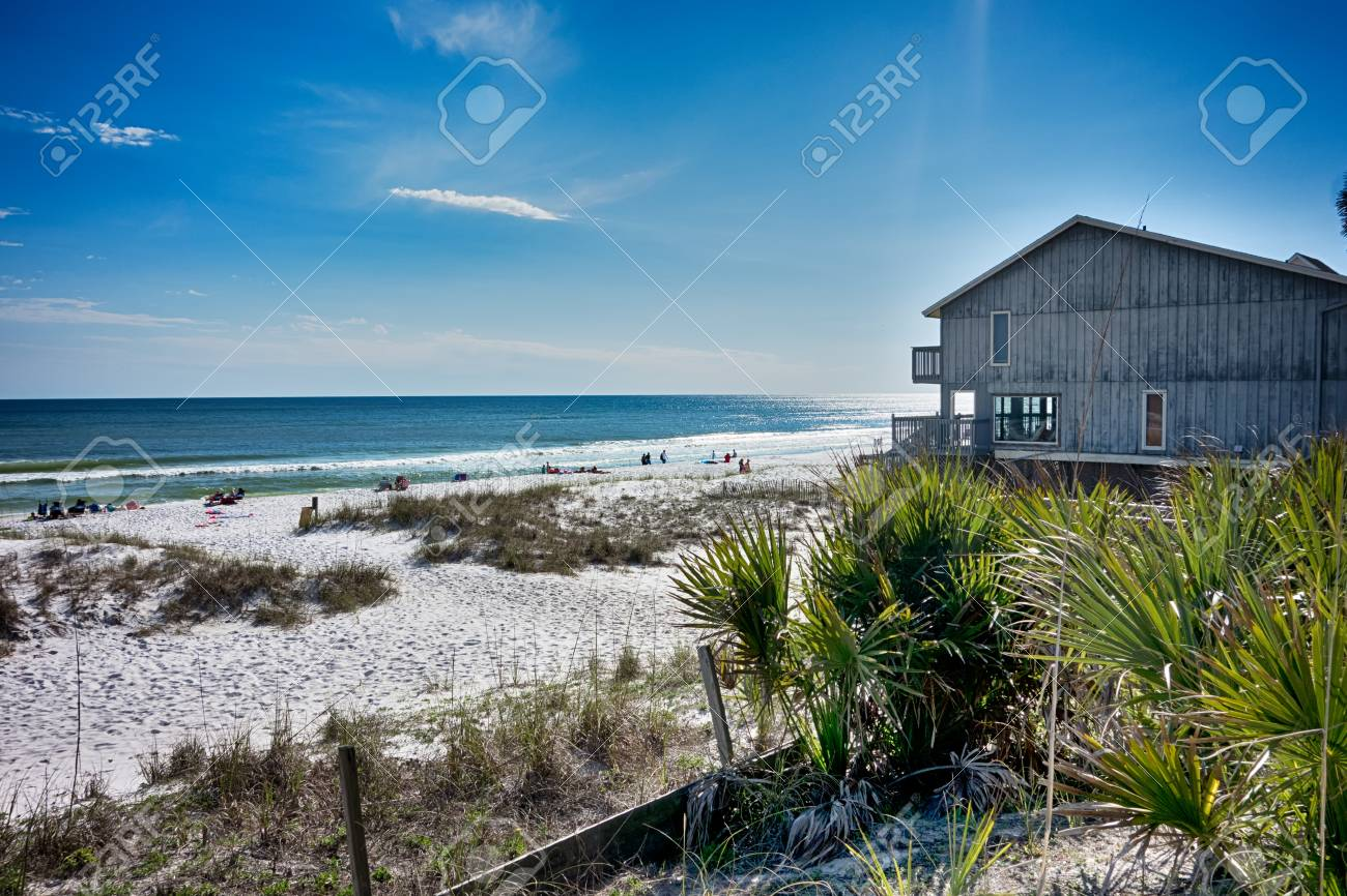 destin florida beach scenes stock photo, picture and royalty free