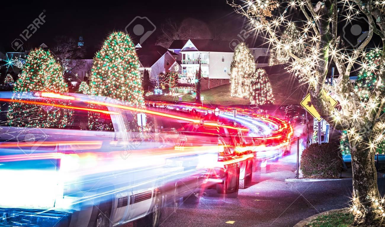 Immagini Natale Usa.Decorazioni Naturali All Aperto A Natale Citta Usa