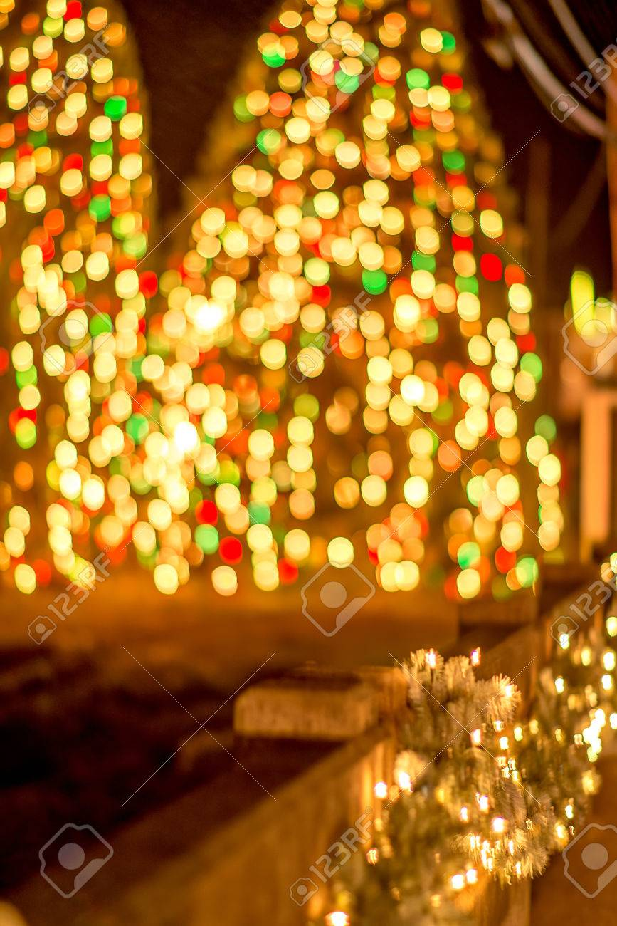 outdoor christmas decorations at christmas town usa stock photo 72477938