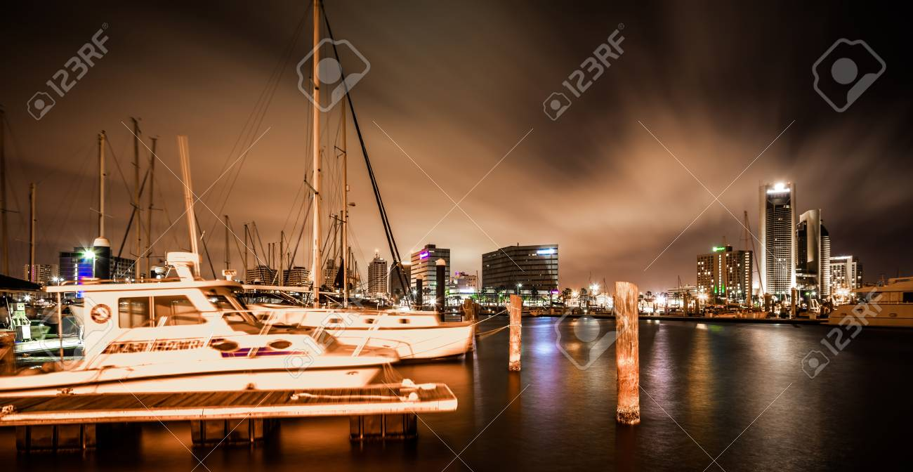 Night Scenes Around Corpus Christi Texas Stock Photo, Picture And ...
