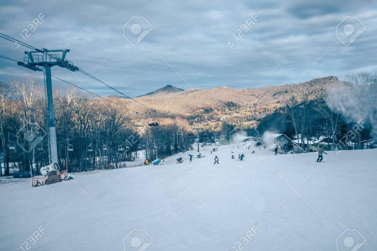 scenic views around sugar mountain ski resort in north carolina