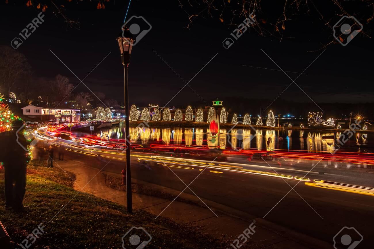 Christmas Town Usa.Outdoor Christmas Decorations At Christmas Town Usa