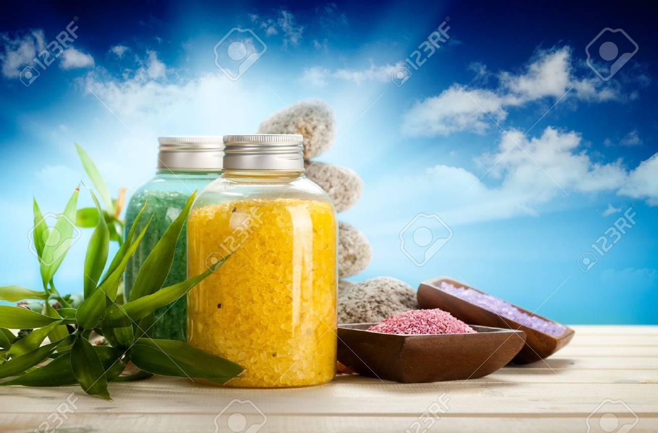 Aromatherapy bath salt - 10472466