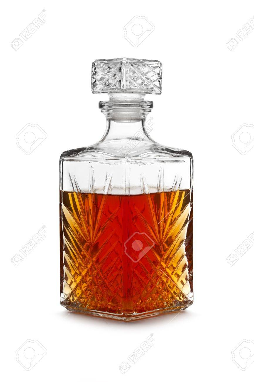 whisky decanter stock photo - Whisky Decanter