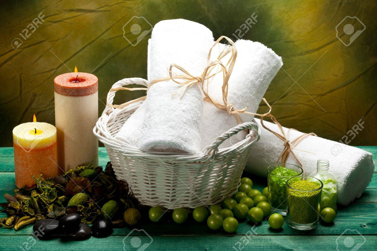 Spa supplies - aromatherapy equipment Stock Photo - 10570855