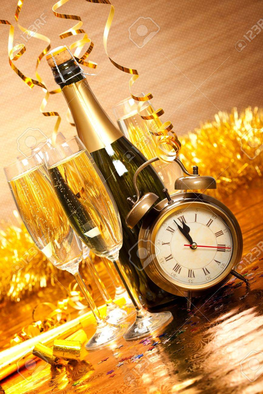 Party decoration - New Year's Day Stock Photo - 10582823