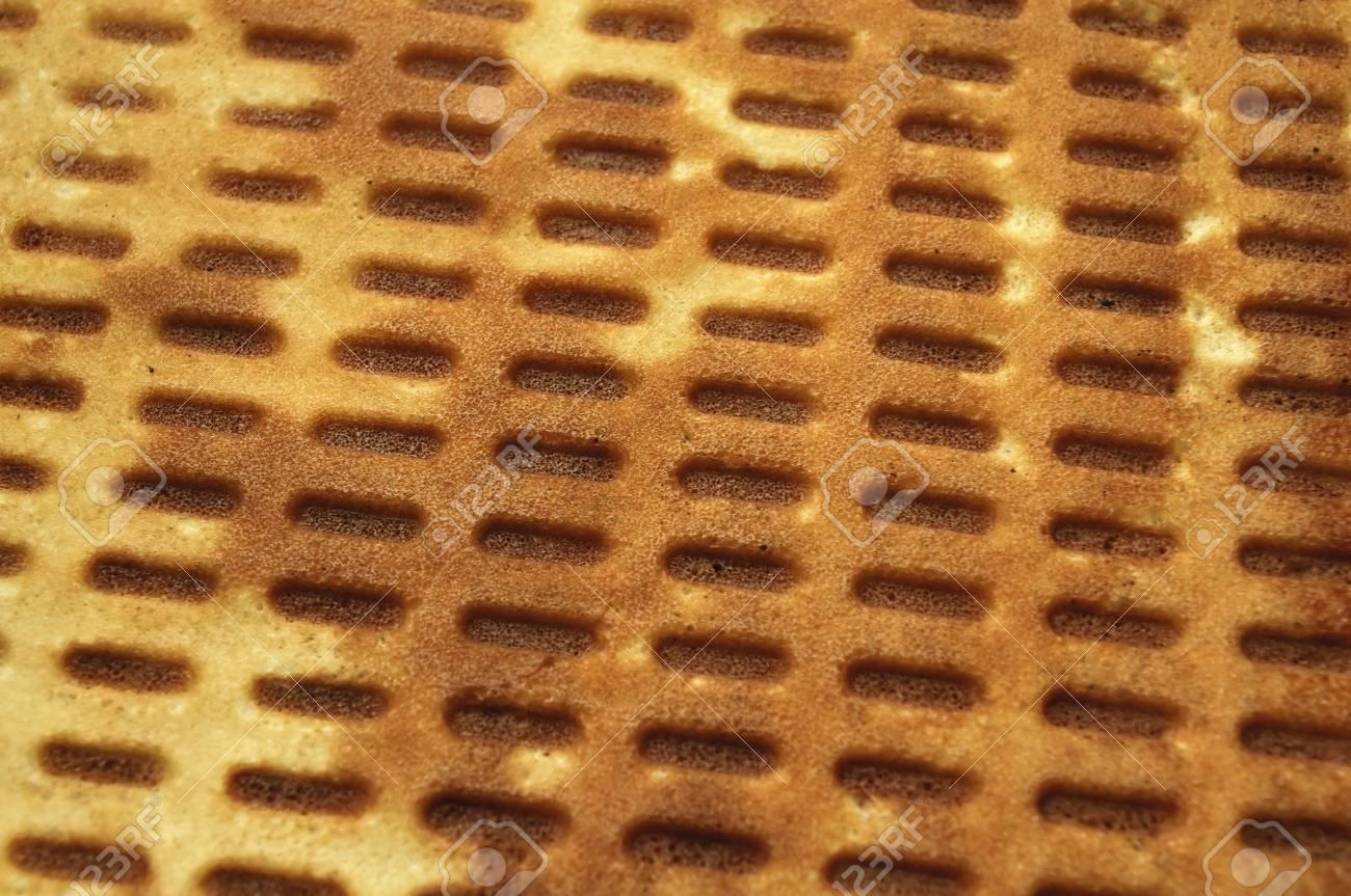 Waffle Background Stock Photo - 6738898
