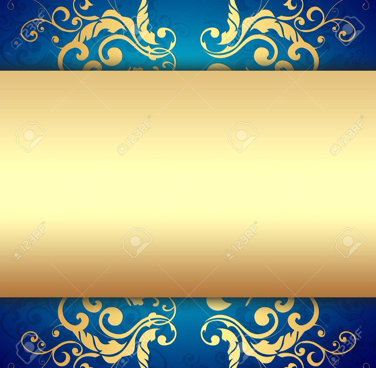 Decorative Golden Background Stock Photo - 6822672