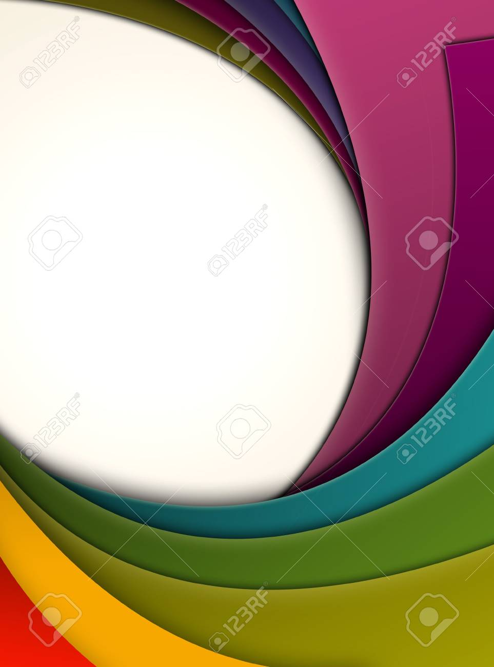 Colorful Curls Stock Photo - 7108046