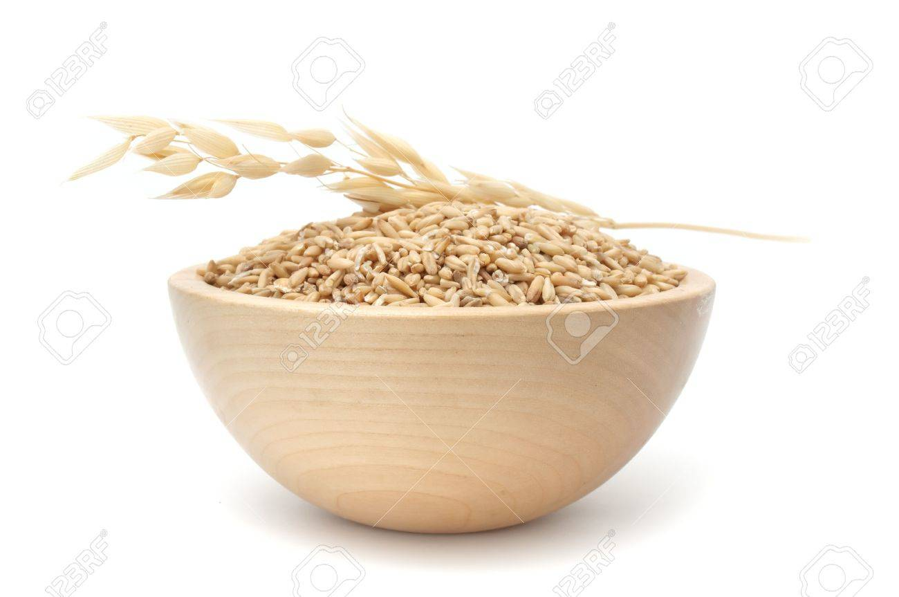 Bowl of Oats Stock Photo - 7152803