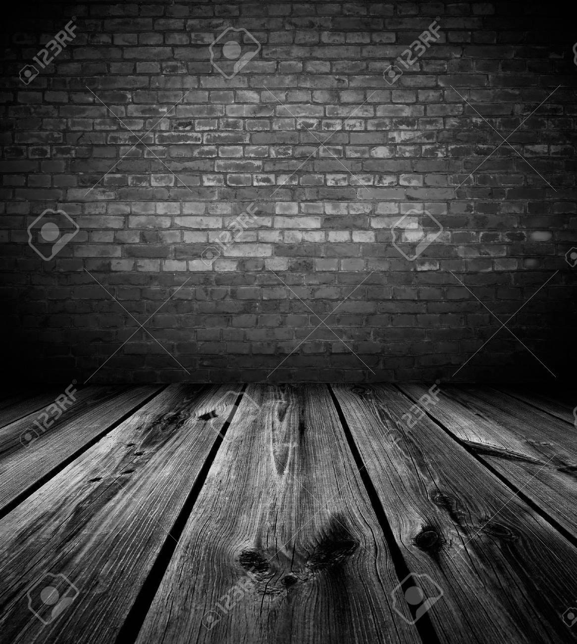 Dark empty room with window - Dark Room Dark Empty Room