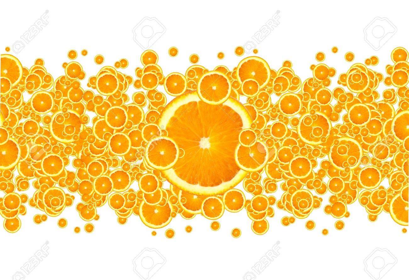 Orange Burst Stock Photo - 7343099