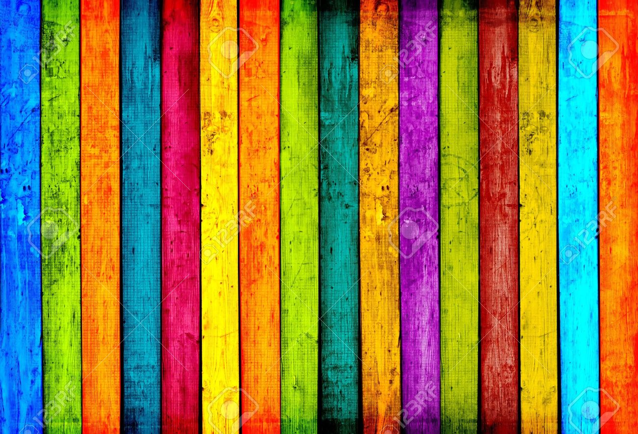 Colorful Wood Background Stock Photo - 9006388