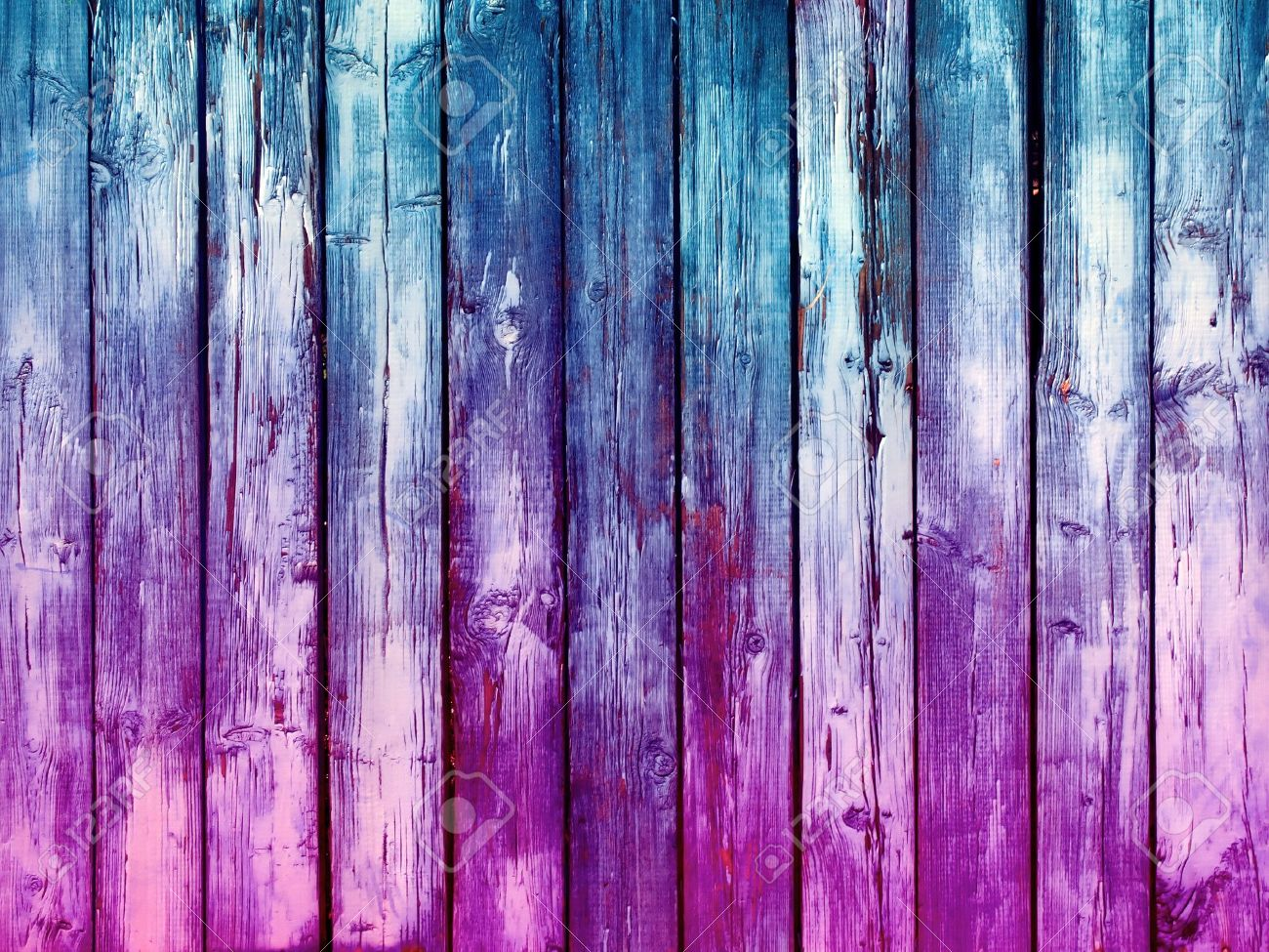 Blue and Pink  Wood Background Stock Photo - 9536708