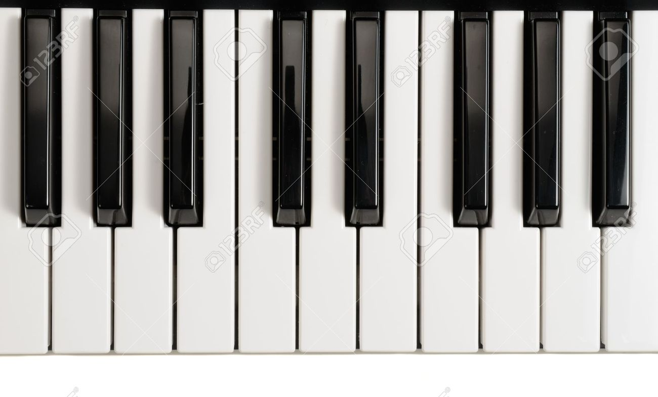 piano keys stock photo picture and royalty free image image 10954041