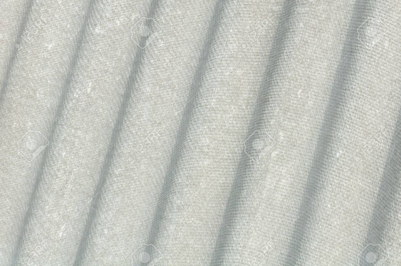 Corrugated Asbestos Cement Roof Sheet  Eternit Stock Photo - 13993991