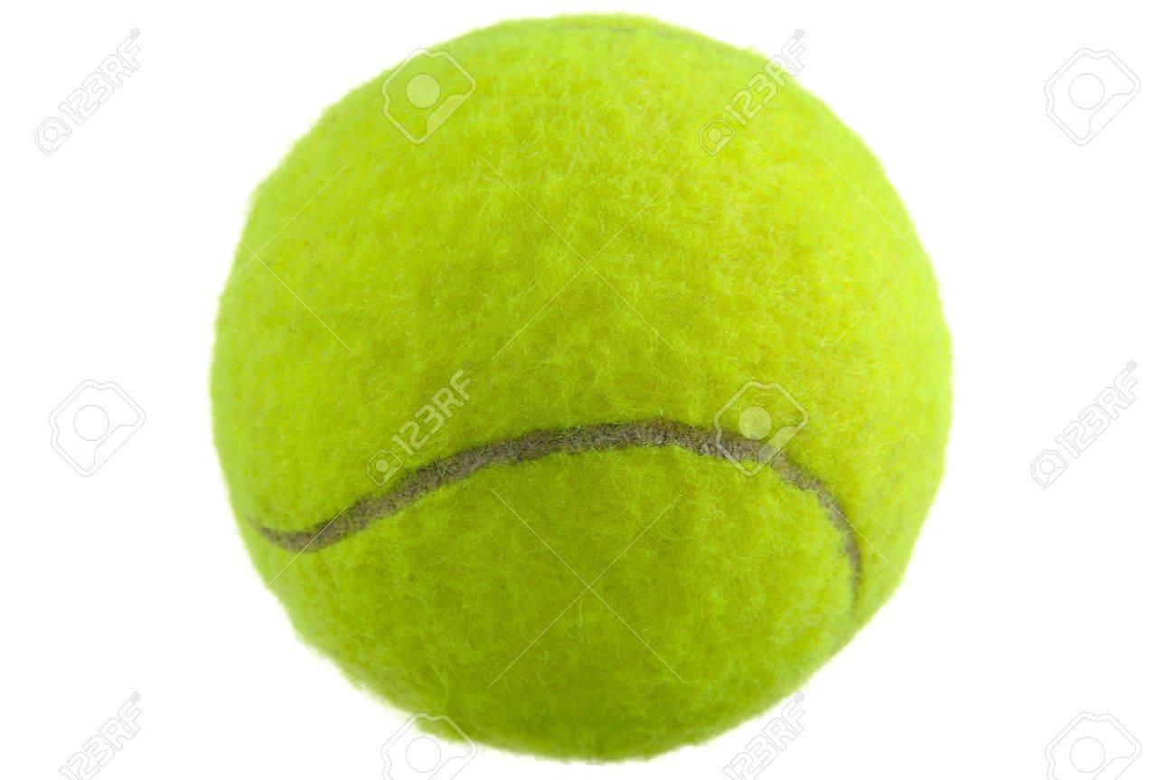Tennis ball mascot stock photos tennis ball mascot stock photography - Curve Tennis Ball Tennis Ball Isolated On White Background Stock Photo