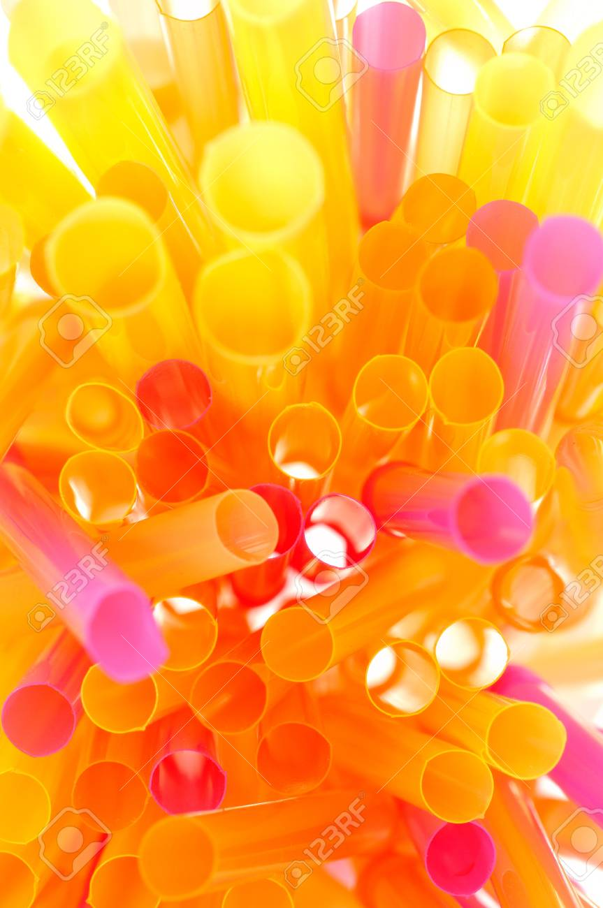 Colorful Drinking Straws Stock Photo - 15359306