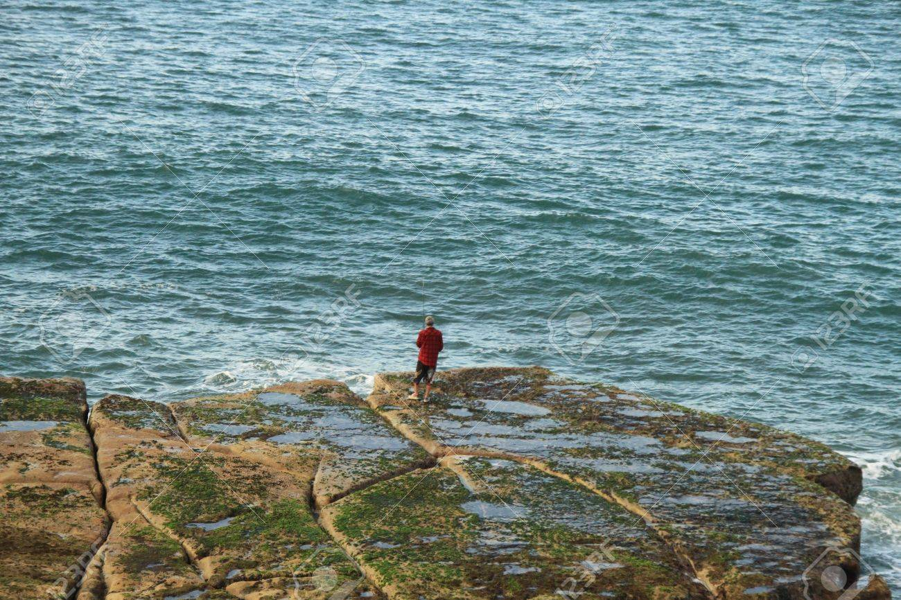 man by the sea Stock Photo - 11450845