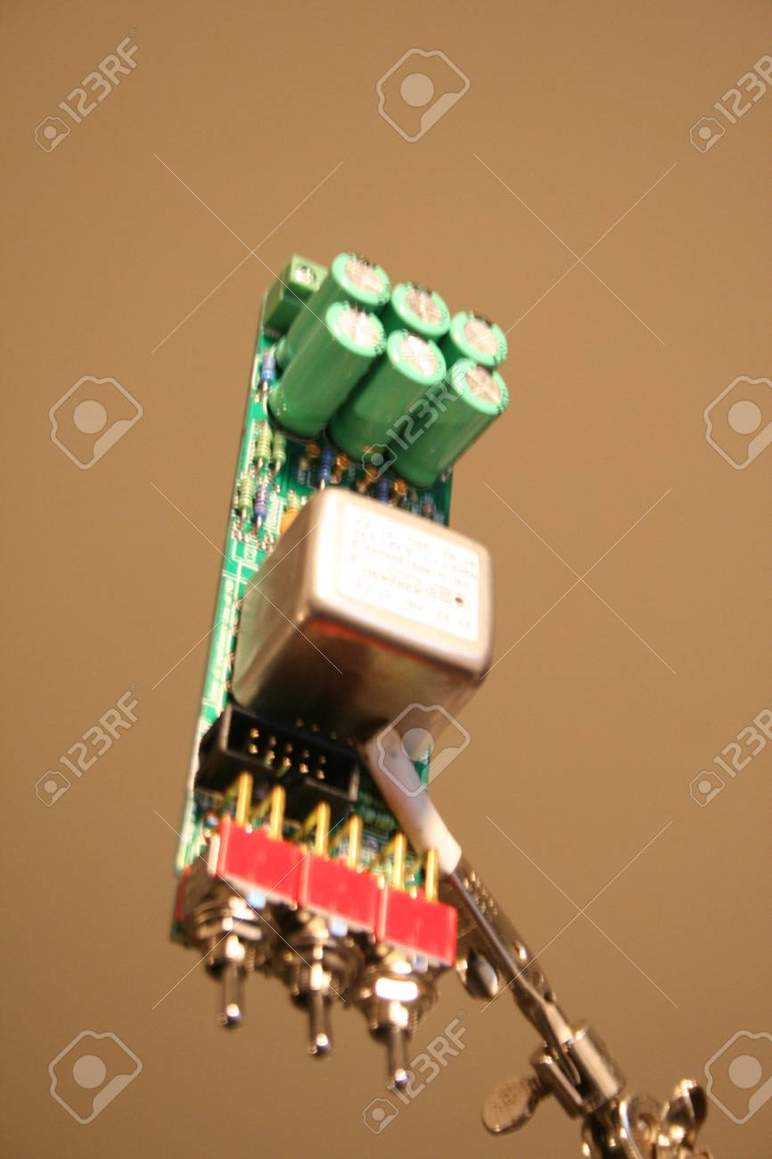 populated PCB Stock Photo - 11593017
