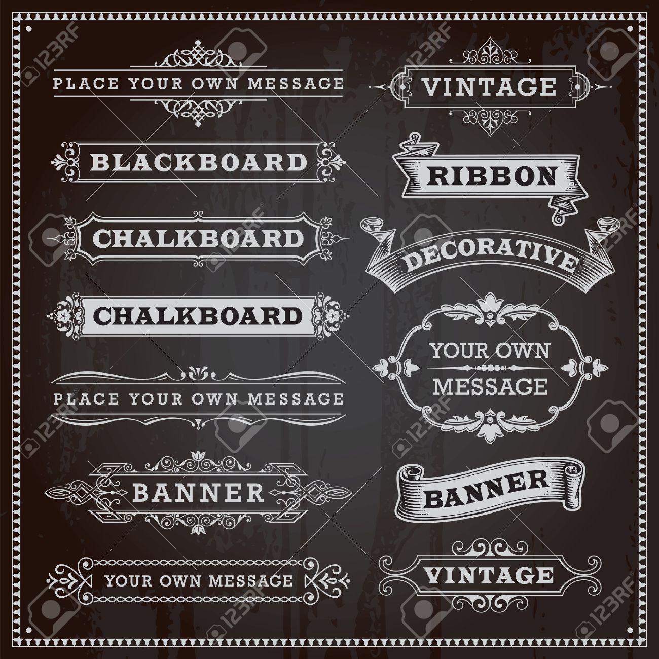 Vintage design elements Stock Vector - 27948192