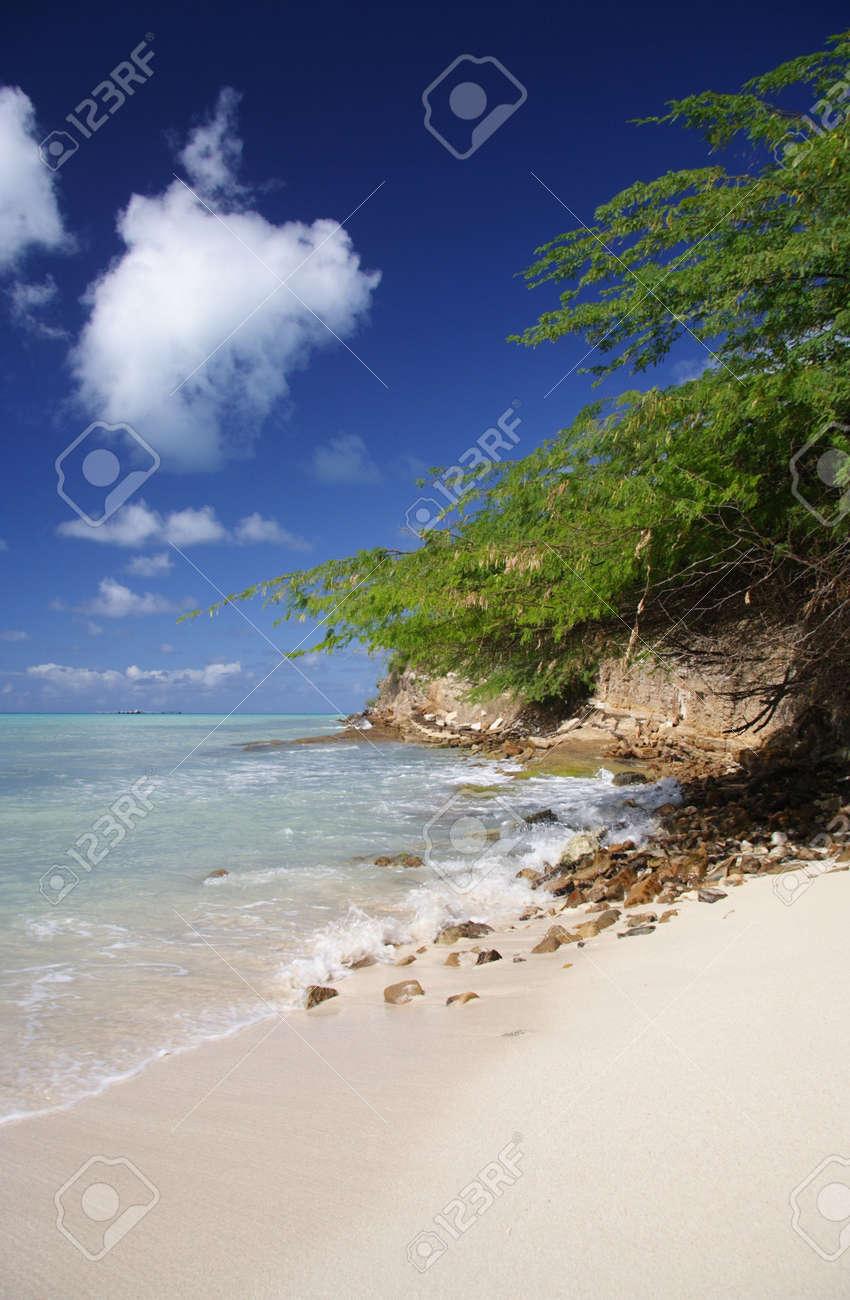 Beautiful caribbean beach Stock Photo - 450072