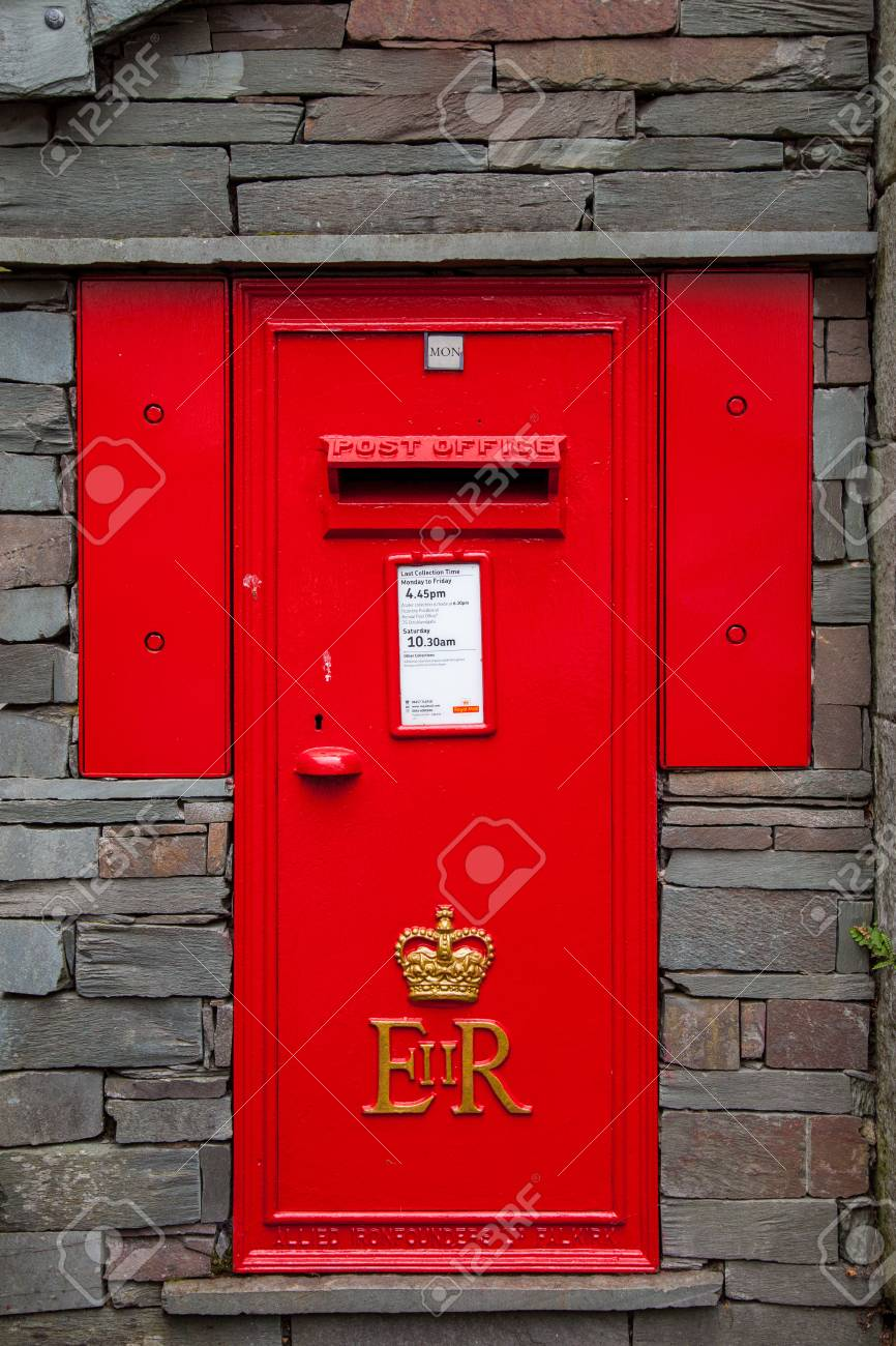 Village Postbox Stock Photo - 24863433