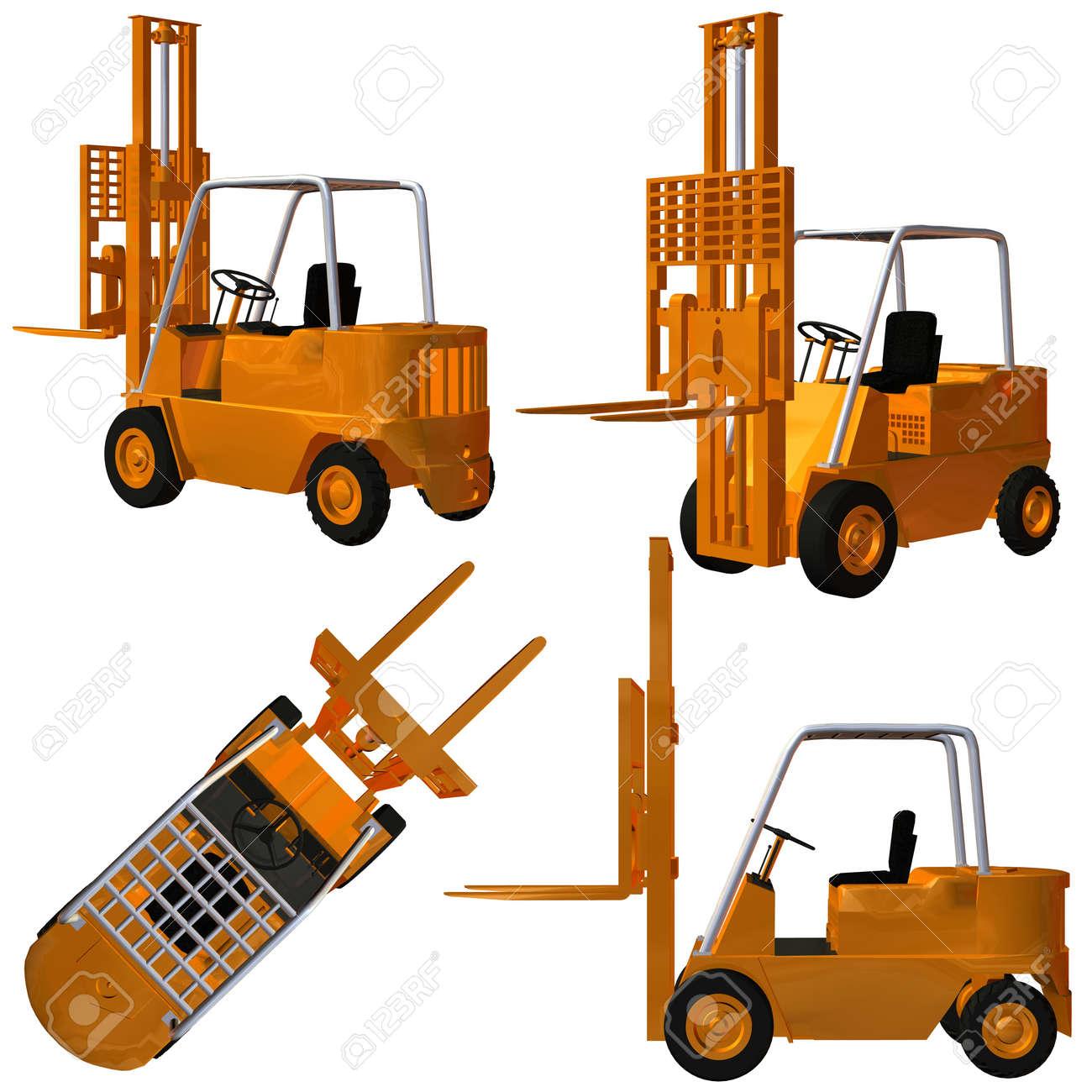 Forklift Stock Photo - 4218551