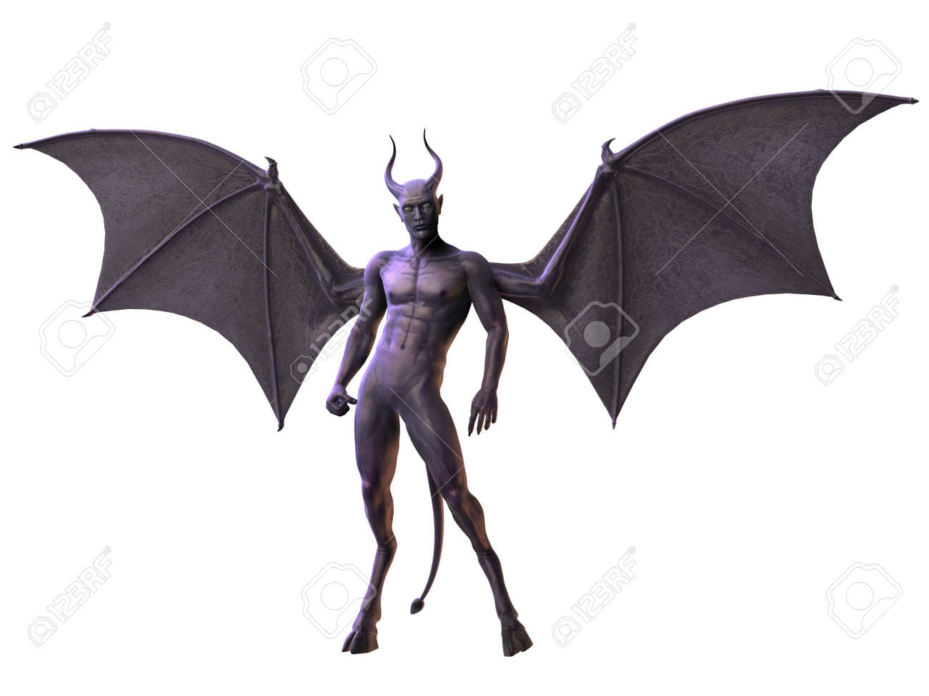 Devil - Horror Figure Stock Photo - 7769597