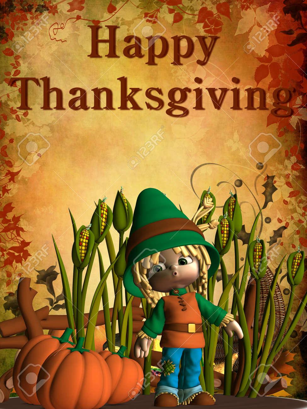 Happy Thanksgiving Stock Photo - 8011813