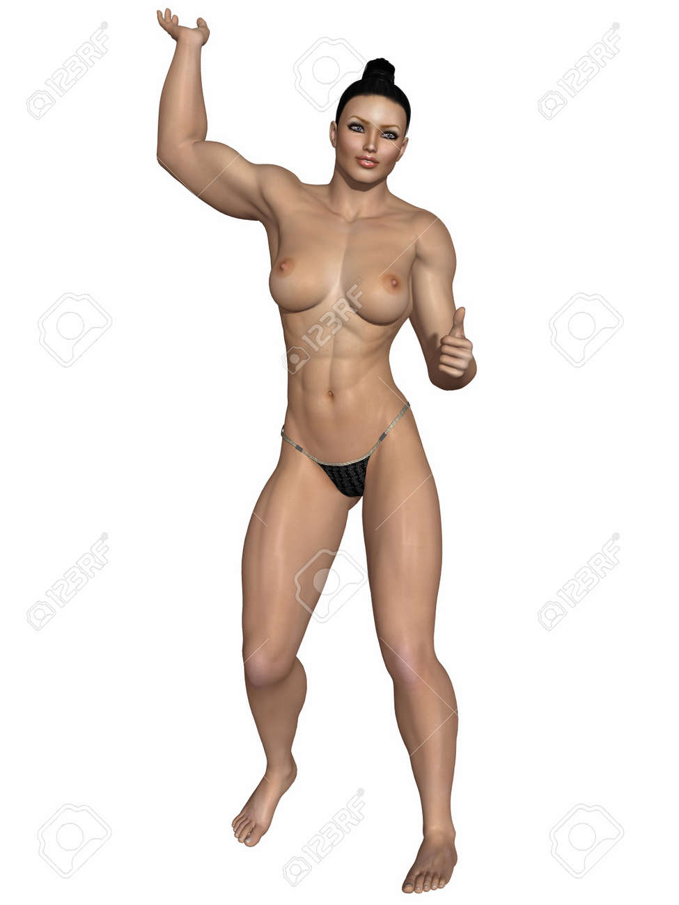 Sexy Strong Women Stock Photo Picture And Royalty Free Image