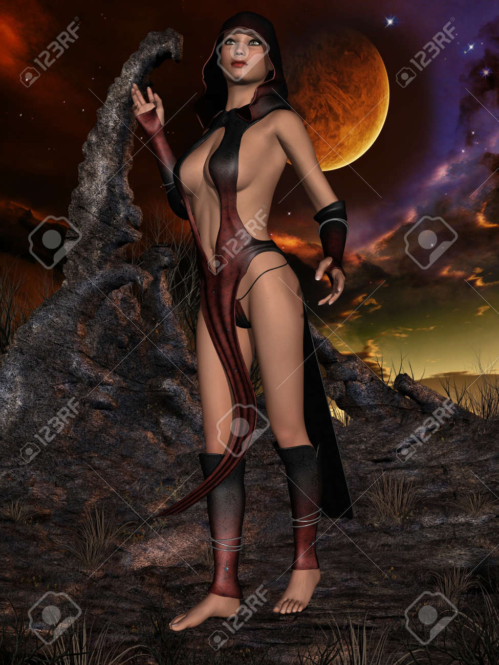 Sexy 3d priestess babes pictures sex tube