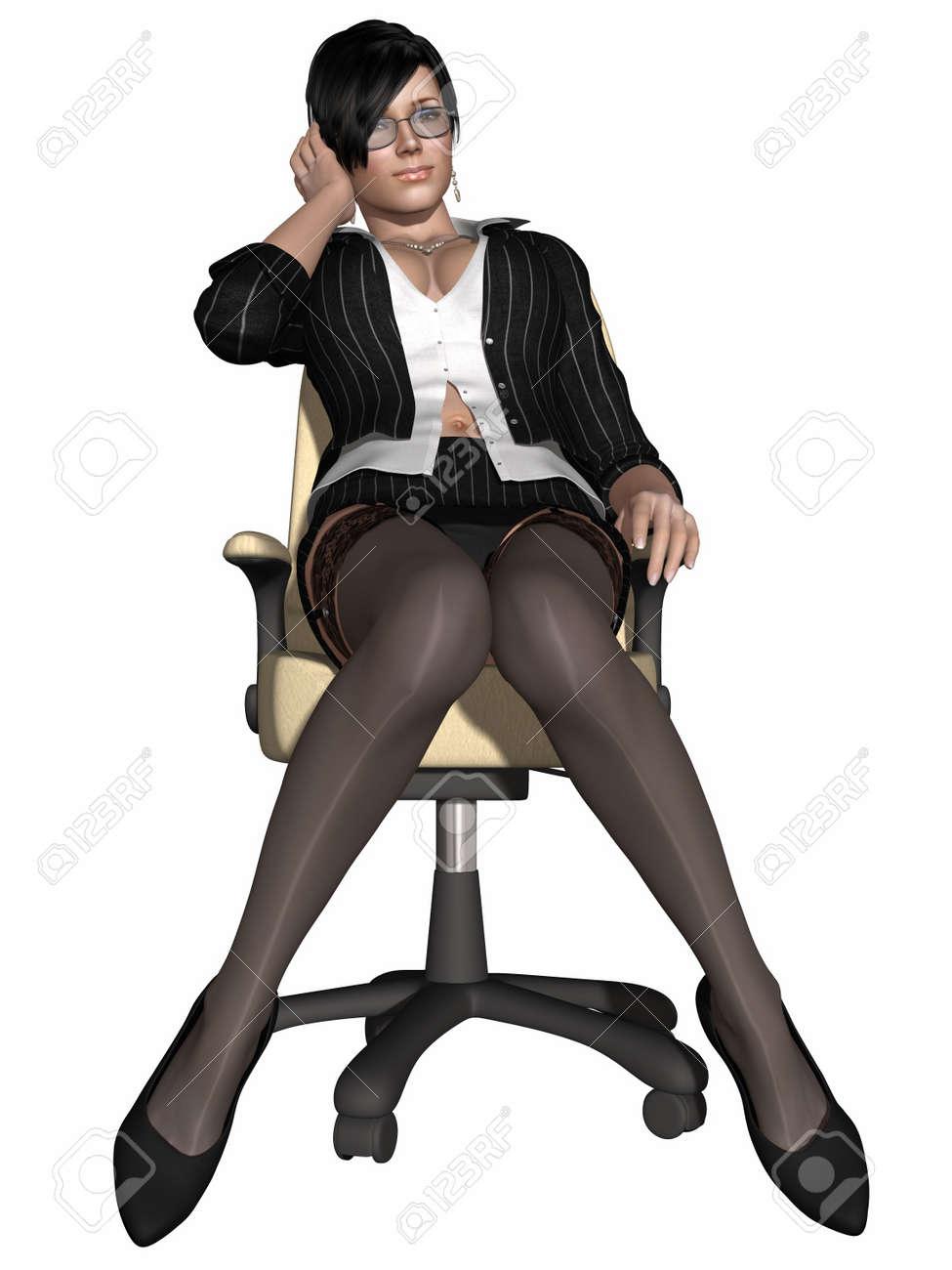 Hot sexy teacher Stock Photo - 9953699