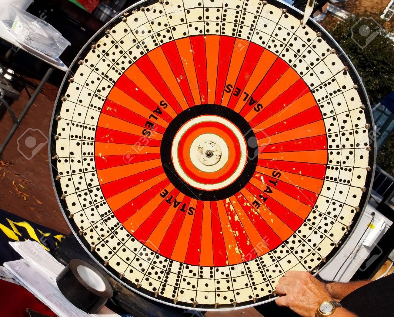 Casino Spinning Wheel Game Of Chance