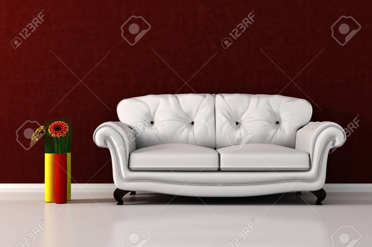 3d render of a modern interior design Stock Photo - 9501995