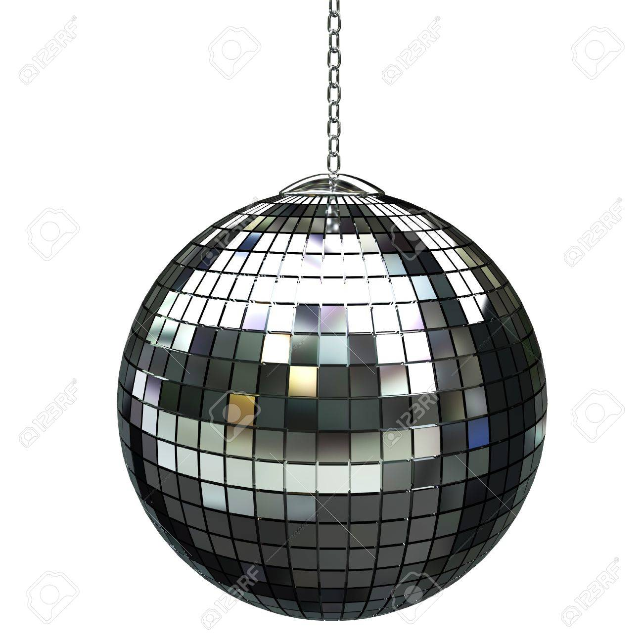 3d Shiny Disco Ball Stock Photo, Picture And Royalty Free Image ...