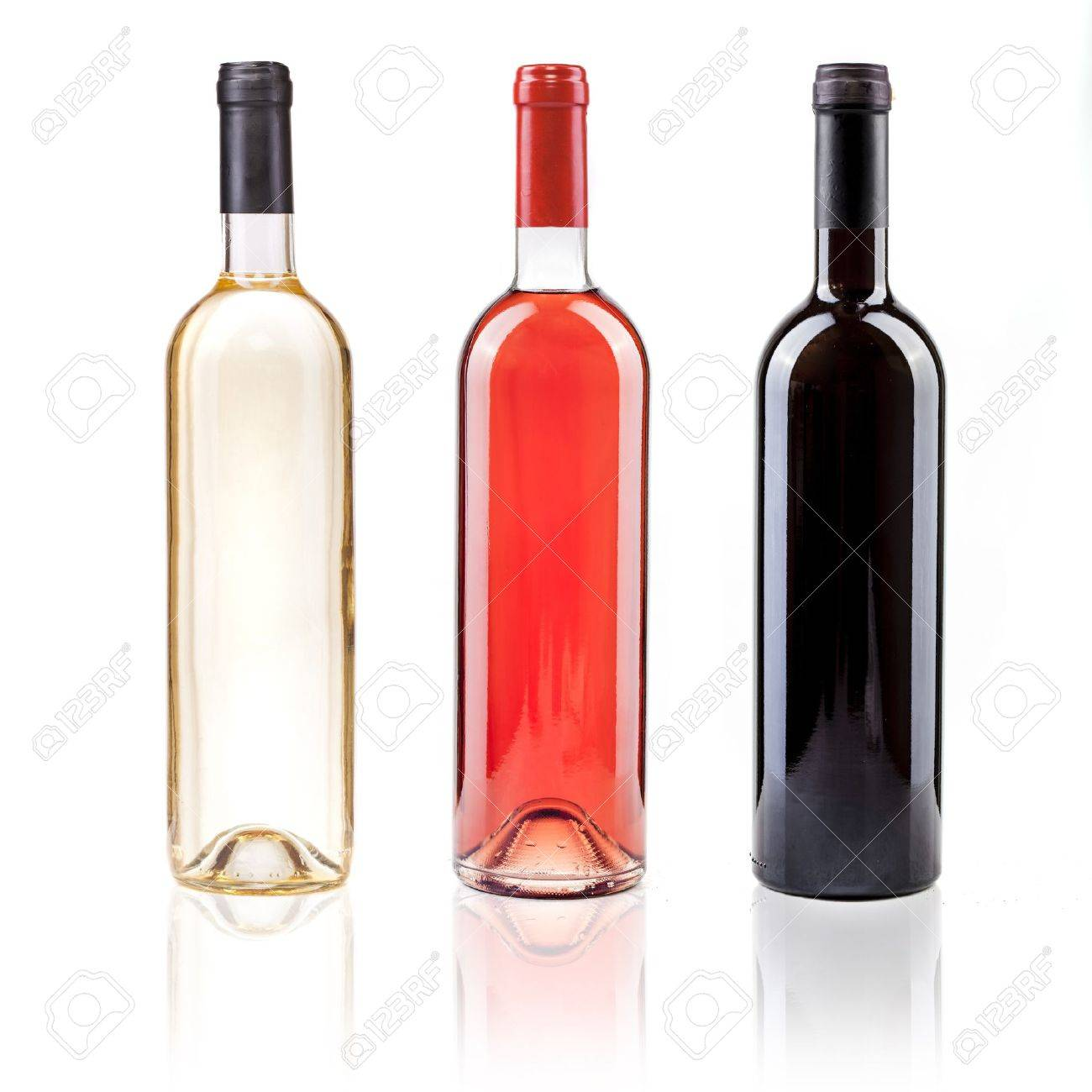 Rose Wine Images Wine Bottle White Rose And