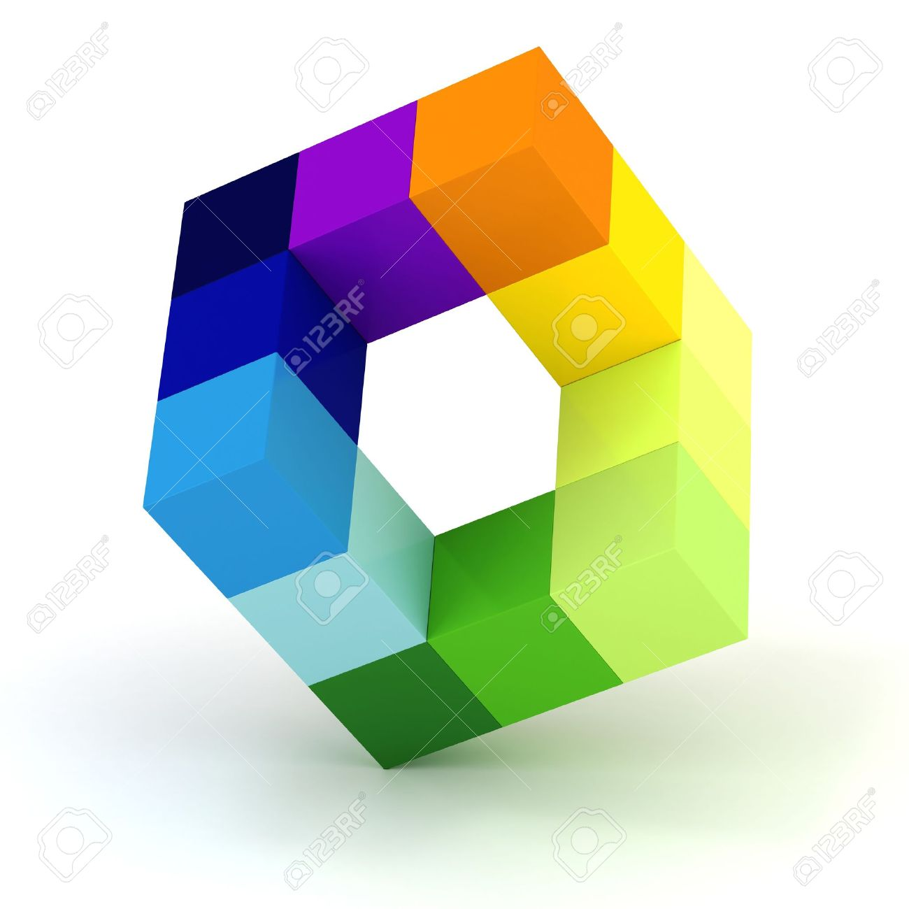3d abstract cube design on white background  sc 1 st  123RF Stock Photos & 3d Abstract Cube Design On White Background Stock Photo Picture ... Aboutintivar.Com