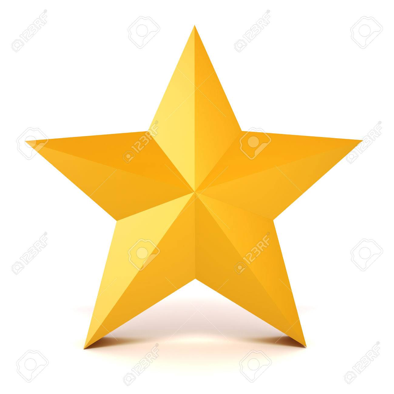 3d gold star on white background stock photo picture and royalty