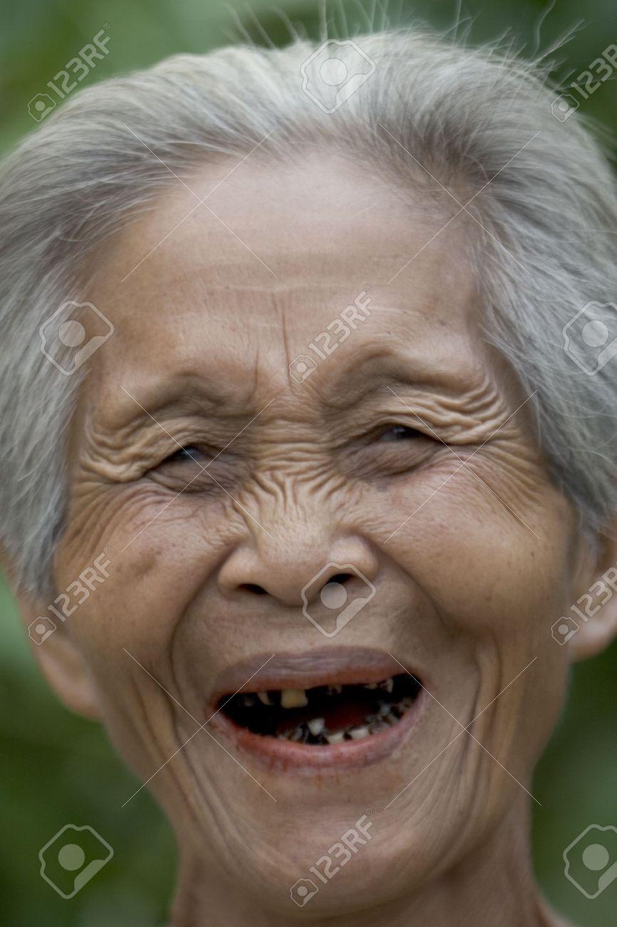 Woman old asian Asian woman,
