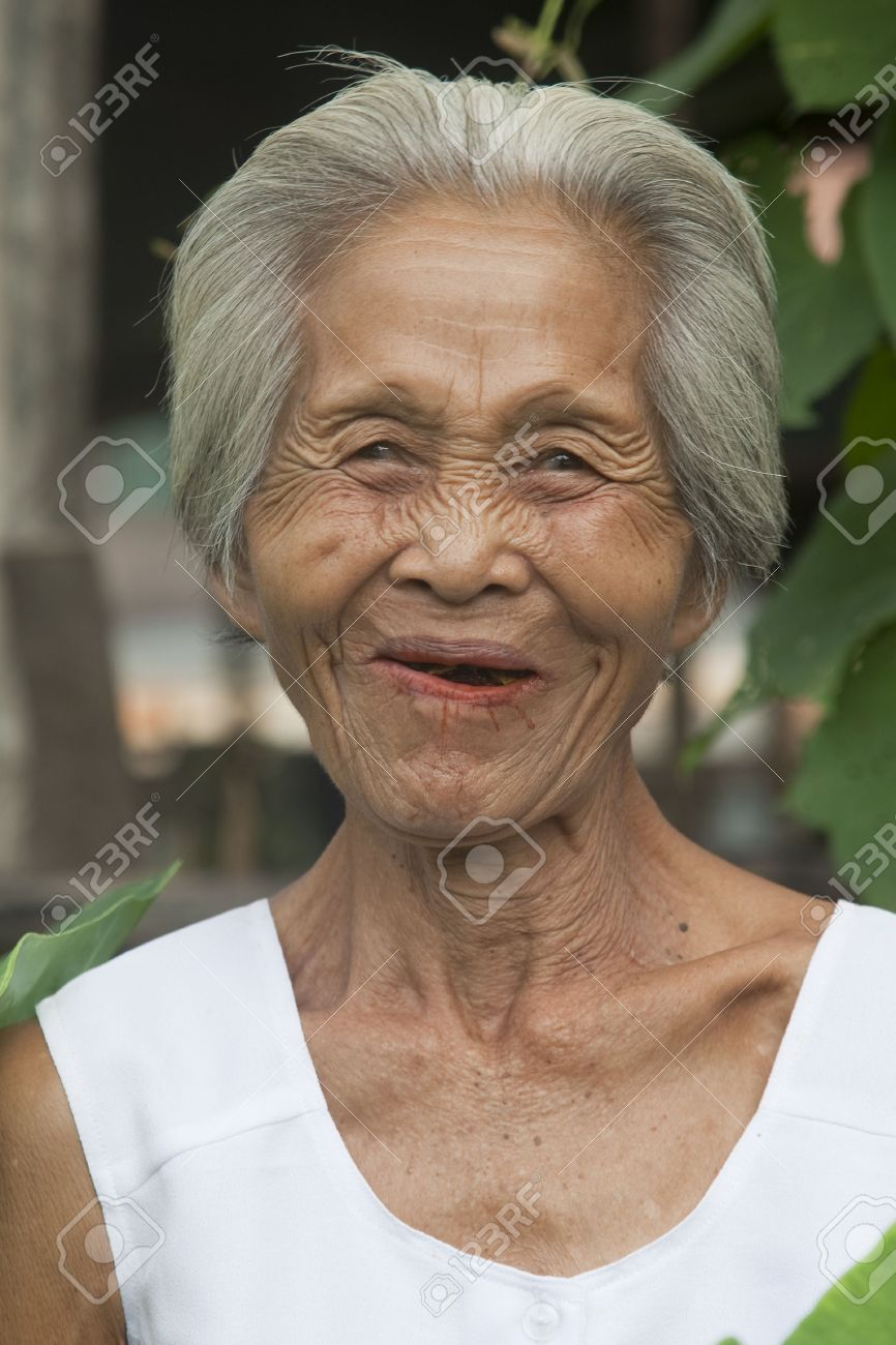 portrait old asian woman stock photo, picture and royalty free image