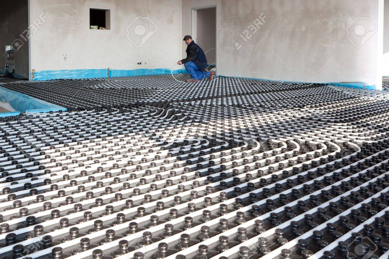 underfloor heating and cooling - 8902411